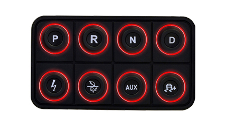 EV 8-Button CAN Keyboard