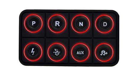 EV 8-Button CAN Keyboard
